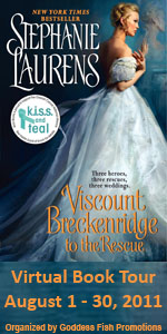 Goddess Fish BlogTour&Review: Viscount Breckenridge To The Rescue by Stephanie Laurens